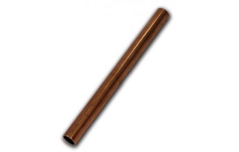 Неотожженная медная труба метрическая (хлыст 3 м)