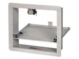 Клапан противодымной вентиляции КЛАД-2 на электромагнитном приводе с тепловым замком